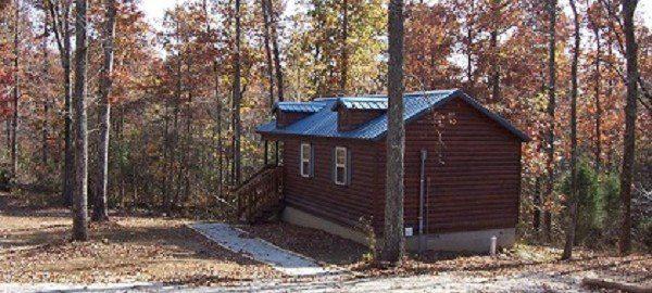 Nutmeg cabin sleeps two