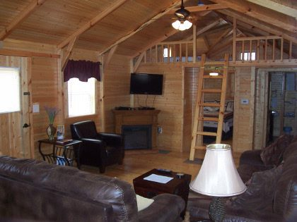Big Leaf Hickory Cabins Mammoth Cave Cabin Rental Accommodations